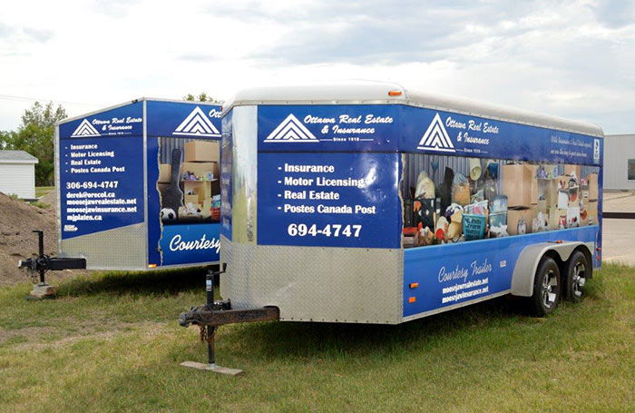 Ottawa Real Estate - Moving Trailer - Moose Jaw