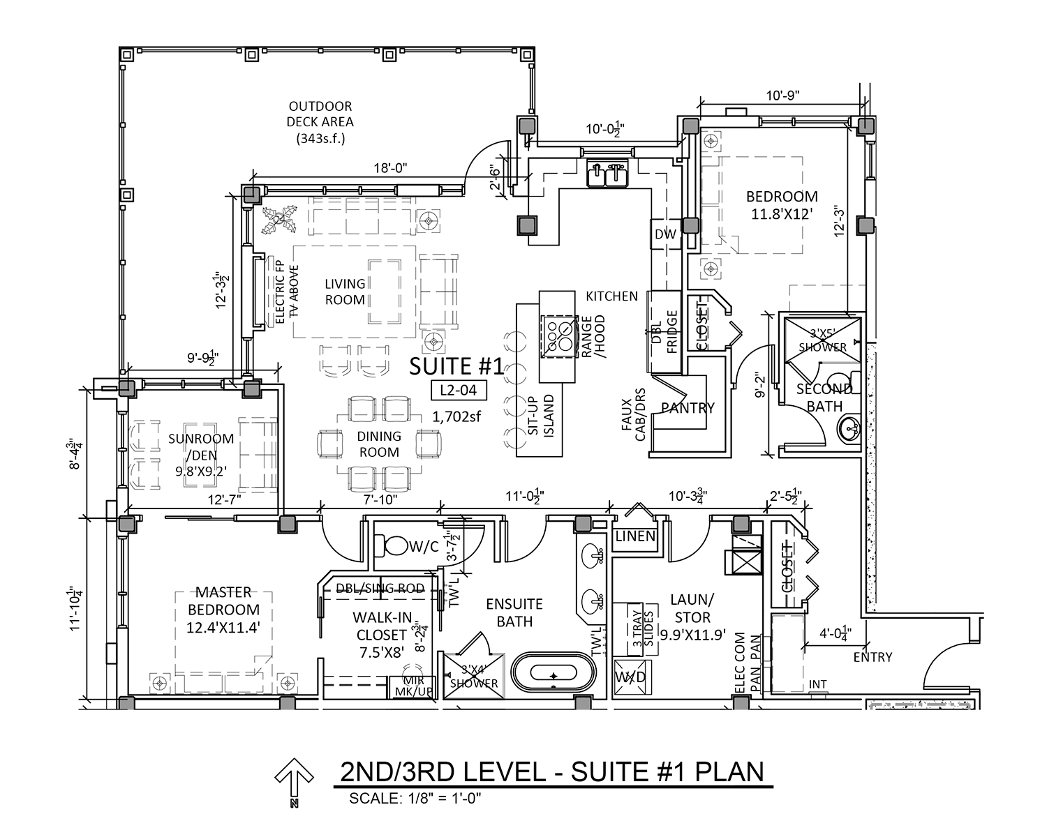 Suite 1 - Floor Plan - Fairford Apartments - 160 Fairford St E - Moose Jaw