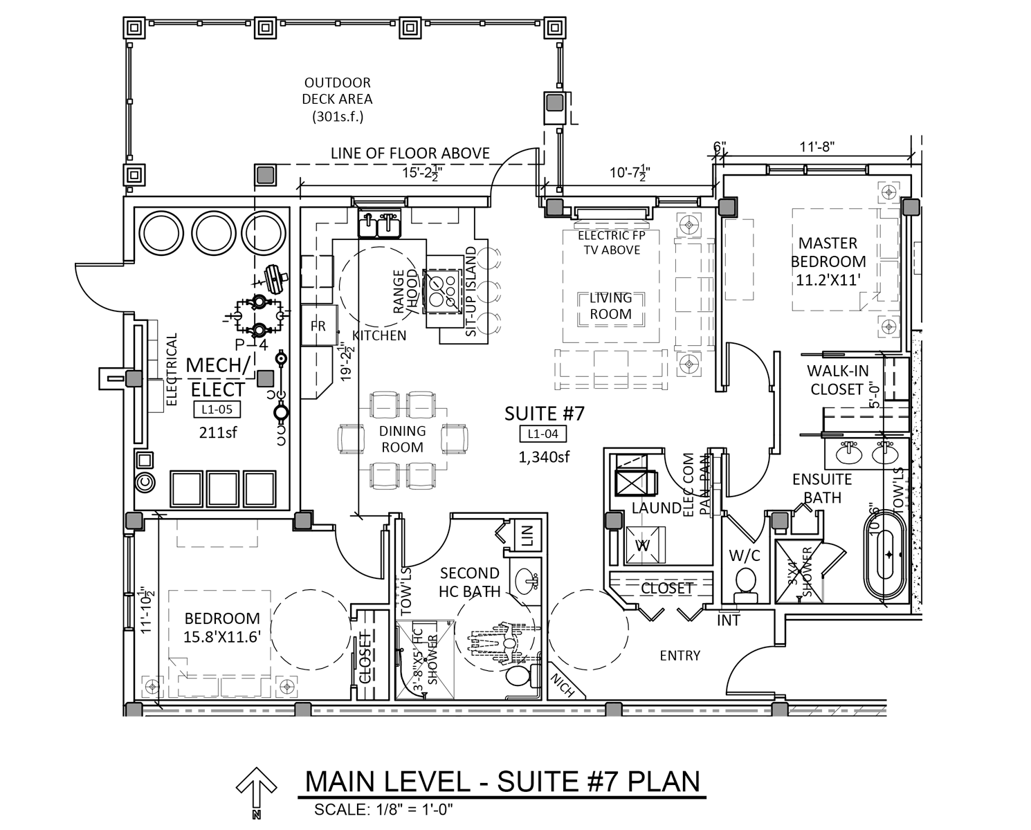 Suite 7 - Floor Plan - Fairford Apartments - 160 Fairford St E - Moose Jaw