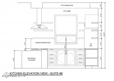 Suite 8 - Floor Plan - Fairford Apartments - 160 Fairford St E - Moose Jaw